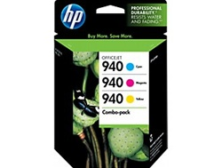 HP #940 3-Pack Genuine Ink Cartridge Combo CN065FN