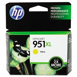 HP #951XL Genuine Yellow Ink Cartridge CN048AN