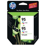 HP #95 Genuine Tri-Color Ink Cartridges CD886FN