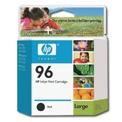 HP #96 Genuine Black Inkjet Cartridge C8767WN