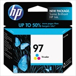 HP #97 Tri-Color Genuine Ink Cartridge C9363WN