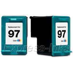 HP #97 Compatible Tri-Color Inkjet Cartridge