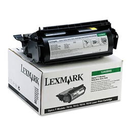 Lexmark 12A5845 Genuine Toner Cartridge