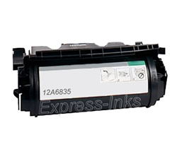Lexmark 12A6835 High Yield Black Toner Cartridge