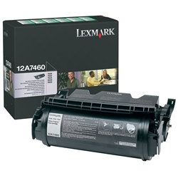 Lexmark 12A7460 Genuine Toner Cartridge
