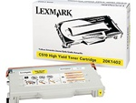 Lexmark C510 Genuine Yellow Toner Cartridge 20K1402