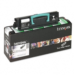 Lexmark 34015HA High Yield Genuine Toner Cartridge