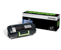 Lexmark 52D1000 Genuine Toner Cartridge 521