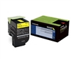 Lexmark 70C1HY0 Genuine Yellow Toner Cartridge 701HY