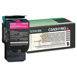 Lexmark C540H1MG Genuine Magenta Toner Cartridge