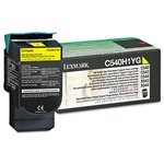 Lexmark C540H1YG Genuine Yellow Toner Cartridge
