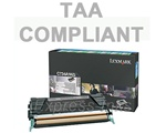 Lexmark C734A4KG Black Toner Cartridge