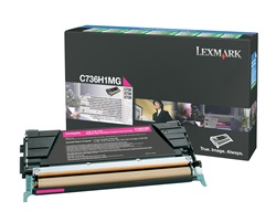 Lexmark C736H1MG Genuine Magenta Toner Cartridge