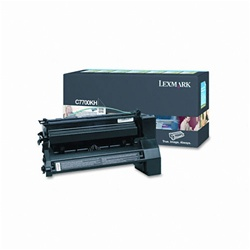 Lexmark C7700KH Genuine Black Toner Cartridge