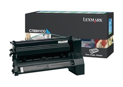 Lexmark C780H1CG Genuine Cyan Toner Cartridge