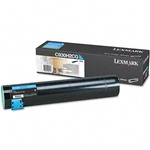 Lexmark C930H2CG Genuine Cyan Toner Cartridge