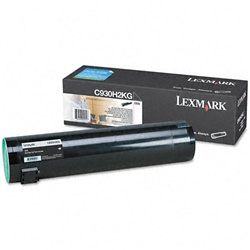 Lexmark C930H2KG Genuine Black Toner Cartridge