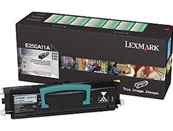 Lexmark E250A11A Genuine Black Toner Cartridge