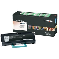 Lexmark E460X11A Genuine Return-Program Toner Cartridge