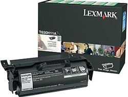Lexmark T650H11A Genuine Toner Print Cartridge