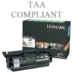 Lexmark T654X41G Genuine Toner Print Cartridge