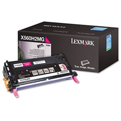 Lexmark X560 Genuine Magenta Toner Cartridge X560H2MG