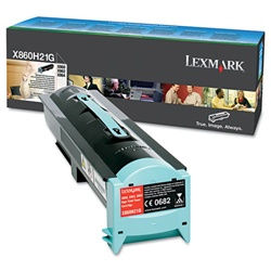 Lexmark X860H21G High Yield Genuine Toner Cartridge