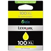 Lexmark 100XL Genuine Yellow Ink Cartridge 14N1071