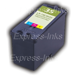 Lexmark #35 Compatible Tri-Color Ink 18C0035