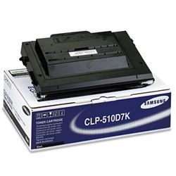Samsung CLP-510D7K Genuine Black Toner Cartridge