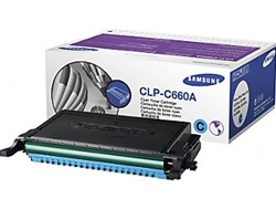 Samsung CLP-C660A Genuine Cyan Toner Cartridge