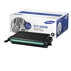 Samsung CLP-K660B Genuine Black Toner Cartridge