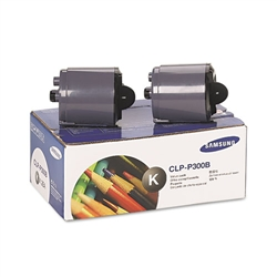Samsung CLP-P300B Genuine Black Toner Cartridge Combo