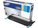 Samsung CLT-C409S Genuine Cyan Toner Cartridge