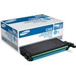 Samsung CLT-C508S Genuine Cyan Toner Cartridge