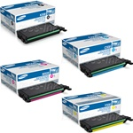 Samsung CLP-670ND Genuine Toner Cartridge Combo