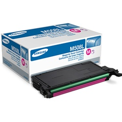 Samsung CLT-M508L Genuine Magenta Toner Cartridge