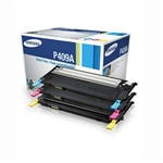 Samsung CLT-P409A 3-Pack Genuine Color Toner Cartridge Combo