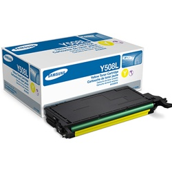 Samsung CLT-Y508L Genuine Yellow Toner Cartridge