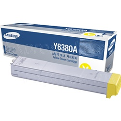 Samsung CLX-Y8380A Genuine Yellow Toner Cartridge