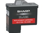 Sharp UXC70B Black Inkjet Cartridge