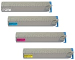 Xerox Phaser 7300 4-Pack Toner Cartridge Combo