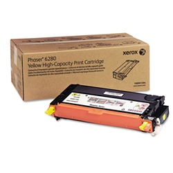 Xerox 106R01394 Genuine Yellow Toner Cartridge