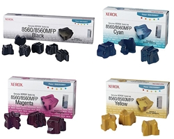 Xerox Phaser 8560 15-Sticks Genuine Solid Ink Combo