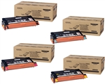 Xerox Phaser 6180 Genuine Toner Cartridge Combo