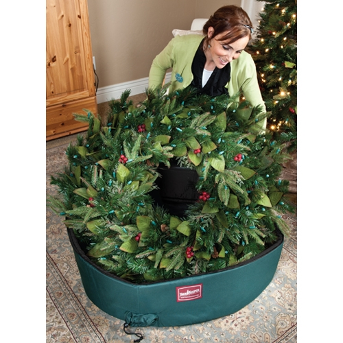Christmas Wreath Storage Bag With Direct Suspend Handle