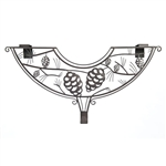 Decorative Wreath Hanger