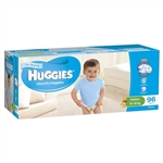 Huggies Walker Boy Nappies (13-18 kg) Bulk - 96 nappies