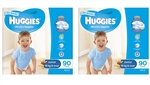Huggies Junior Boy Nappies (16  kg & over ) Bulk - 90x2 nappies