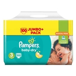 Pampers Nappies  Baby Dry 3 4-9kg 136